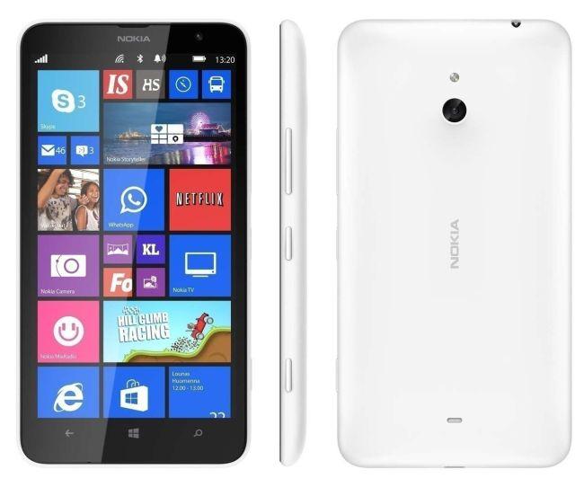 Recondicionado Nokia Lumia 1320 (Branco, 8GB) Excelente