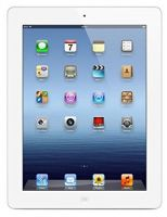 Apple iPad 3 (White, 16GB) Wi-Fi + Cellular (Unlocked) Excellent